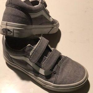 Boys vans tennis shoes